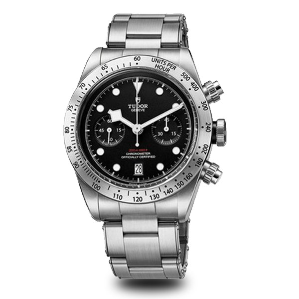 Black Bay Chrono Silver