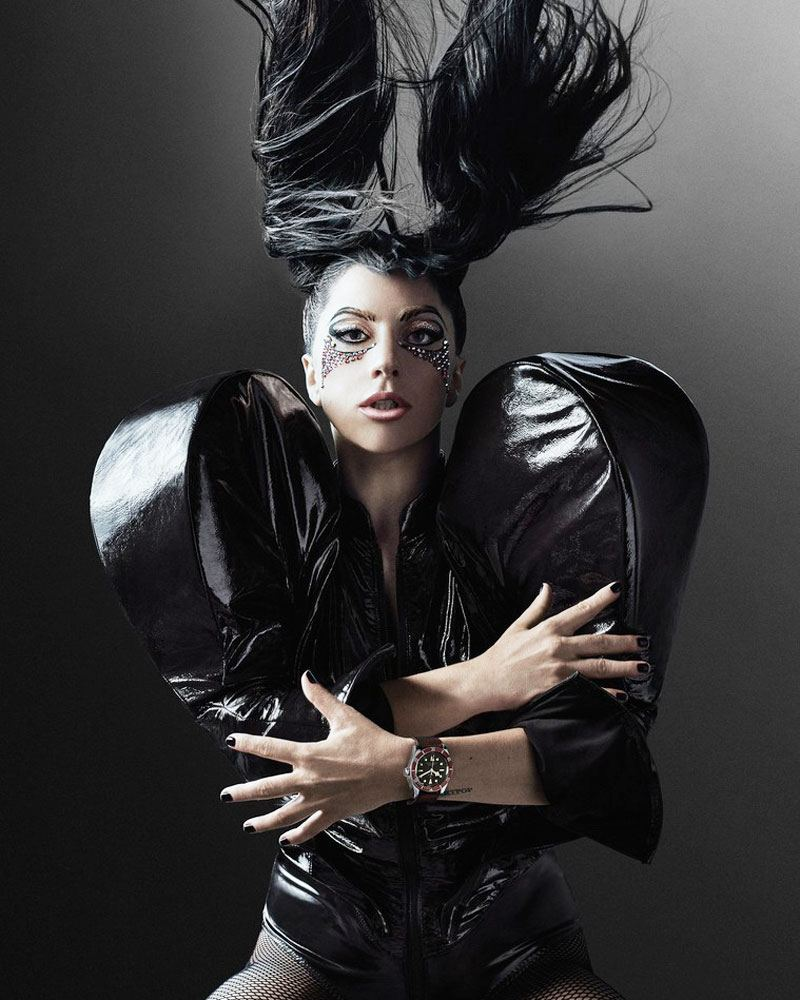 Lady Gaga for Tudor #BorntoDare