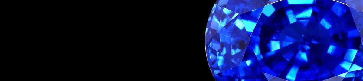 Blue gemstone image