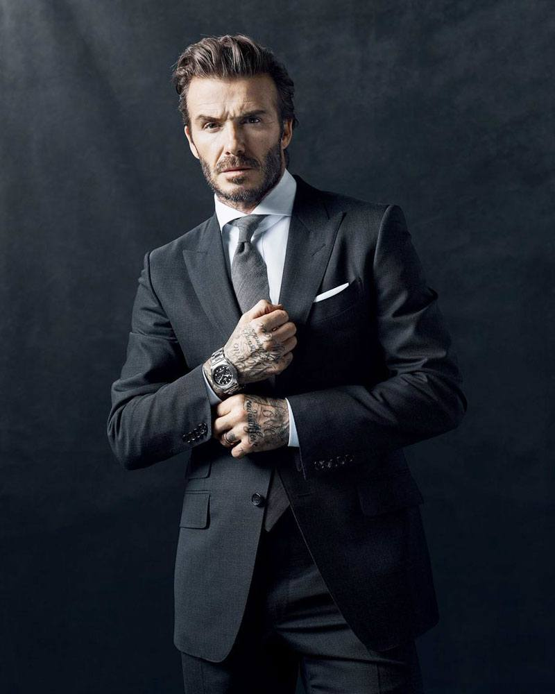 David Beckham for Tudor #BorntoDare