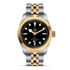 Tudor Black Bay 32 S&G - from £2990 - sizes available: 32mm / 36mm / 41mm