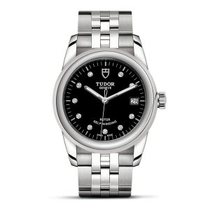 Tudor Glamour Date - from £1650.00 - sizes available: 26mm / 31mm / 36mm / 42mm